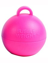 Pink Bubble Balloon Weight