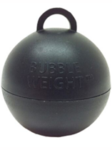 Black Bubble Balloon Weight