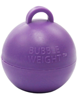 Purple Bubble Balloon Weight