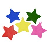 Asst'd Star Shaped 10gr Balloon Weights 50pk