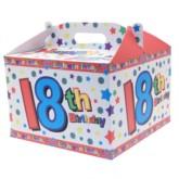 18th Birthday Carry Handle Balloon Box
