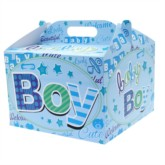 Baby Boy Carry Handle Balloon Box