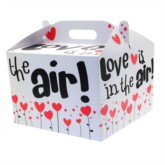 Valentine's Day I Love You Carry Handle Balloon Box