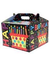 Happy Birthday Carry Handle Balloon Box