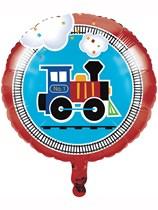 """All Aboard 18"""" Train Foil Balloon"""