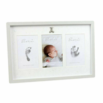 Bambino by Juliana Baby Photo, Hand & Foot Print Frame