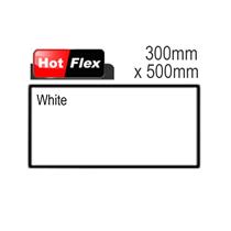 White Hot Flex Ultra Garment Vinyl Sheet 300mm x 500mm