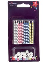 Magic Re-lighting Party Candles 10pk