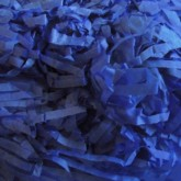 Blue Shredded Tissue Paper