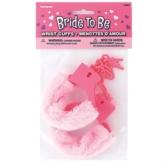 Hen Party Pink Furry Handcuffs