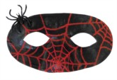 Halloween Spider Eye Mask 100pk