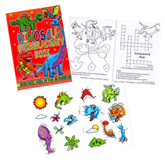 Dinosaur Mini Sticker & Colour Activity Book