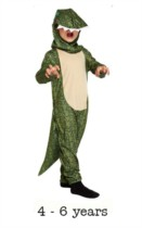 Children's Dinosaur Fancy Dress Costume 4 - 6 yrs