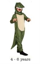 Children's Dinosaur Fancy Dress Costume 4 - 6 yrs