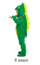 Child Dinosaur Fancy Dress Costume - Toddler