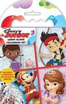 Disney Junior Carry Along Colouring Set
