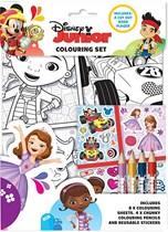 Disney Junior Colouring Set