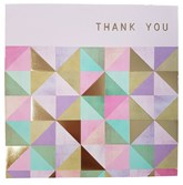 Thank You Cards with Envelopes 6pk