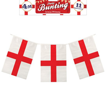 St. George's Cross Flag Banner 4M (11 Flags)