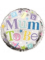"""Mum to Be 18"""" Foil Balloon"""