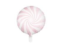 """Light Pink Candy Swirl 18"""" Foil Balloon"""