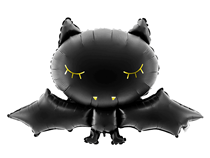 Halloween Black Bat 52cm Foil Balloon