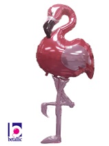 Giant Pink Flamingo Supershape Foil Balloon