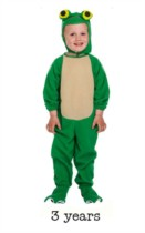 Child Frog Fancy Dress Costume - Toddler