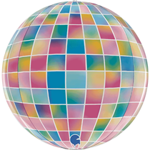 "Disco Ball Strobo 15"" Globe Foil Balloon"