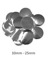 Oaktree Metallic Silver Foil Confetti