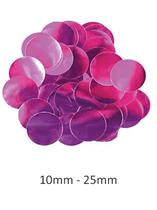 Oaktree Metallic Fuchsia Foil Confetti