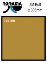 Ritrama Gold Matt Vinyl 305mm x 5M