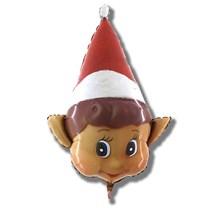 Christmas Elf on the shelf 34 inch foil balloon