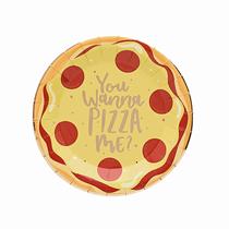 Pizza Party 23cm Paper Plates 10pk