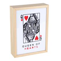 Queen Of Hearts Lightbox