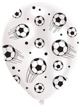 "Football 11"" Latex Balloons 6pk"