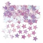 Iridescent Star Metallic Confetti 14g