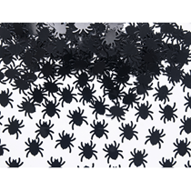 Halloween Black Spider Confetti 15g