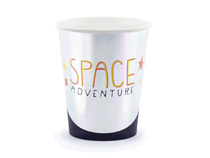 Space Party 200ml Paper Cups 6pk