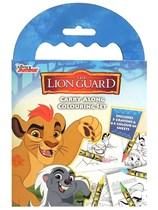 The Lion Guard Carry Along Colouring Set