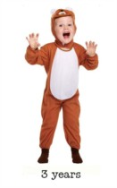 Child Lion Fancy Dress Costume - Toddler