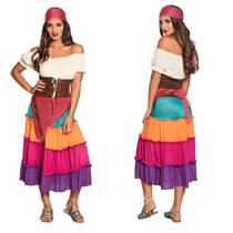 Womens Gypsy Fancy Dress Costume