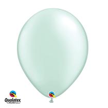 Qualatex Pearl Mint Green 16 inch Latex Balloons 50 pack