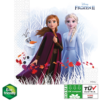 Disney Frozen 2 Party Napkins Eco Friendly 20 Pack