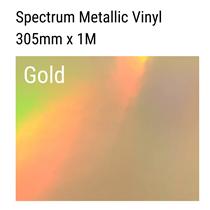 Gold Spectrum Vinyl Craft Roll