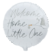 New Baby Welcome Home 22 Inch Foil Balloon Decoration