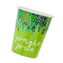 Jungle party cups 10 pack
