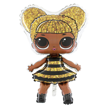 "LOL Surprise Queen Bee 37"" Large Foil Balloon"
