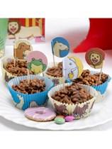 Dear Zoo Cupcake Cases & Picks