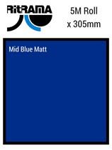 Ritrama Mid Blue Matt Vinyl 305mm x 5M